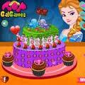 Jogos Elsas Valentines Day Cake